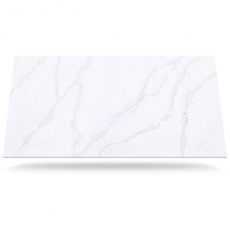 Eternal Calacatta Gold - Finition Quartz Silestone Polie